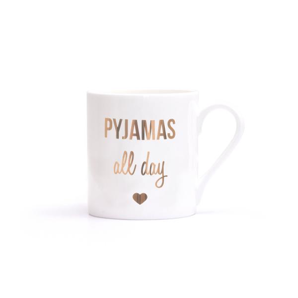 Pyjamas All Day Becher