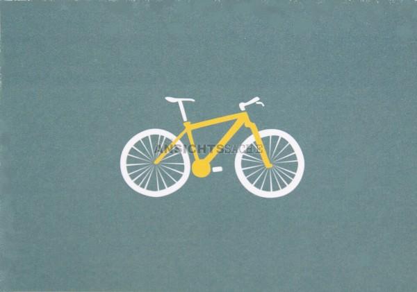 Postkarte Fahrrad