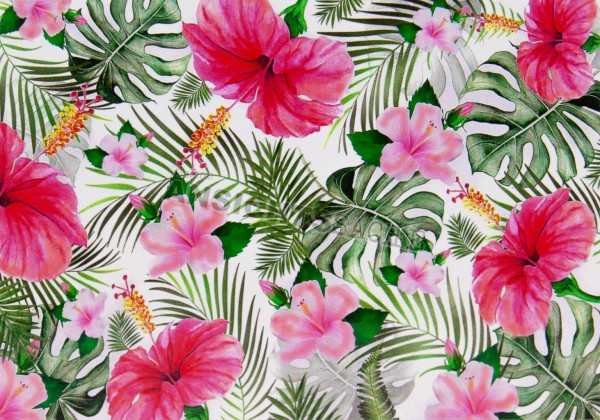 Postkarte Blumenteppich