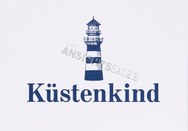 "Postkarte ""Küstenkind"""