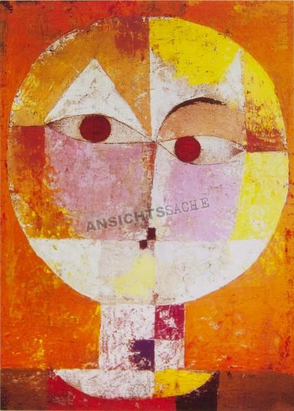 "Postkarte ""Paul Klee - Senecio, Head of a Man"""