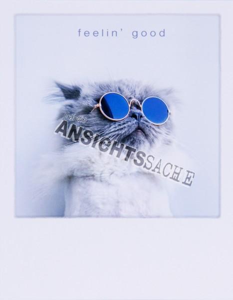"""Postkarte """"feelin`good"""""""