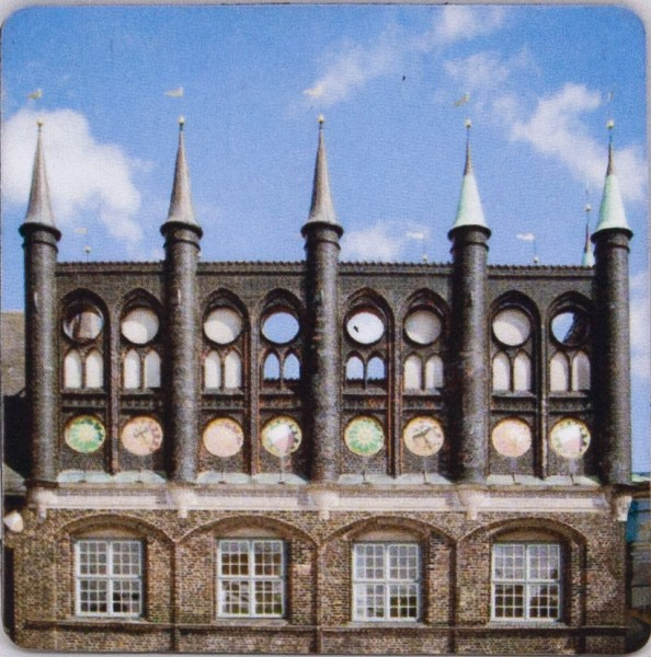 Lübeck-Magnet Rathaus