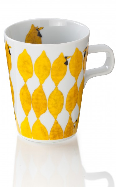 Teetasse Zitronen & Raben