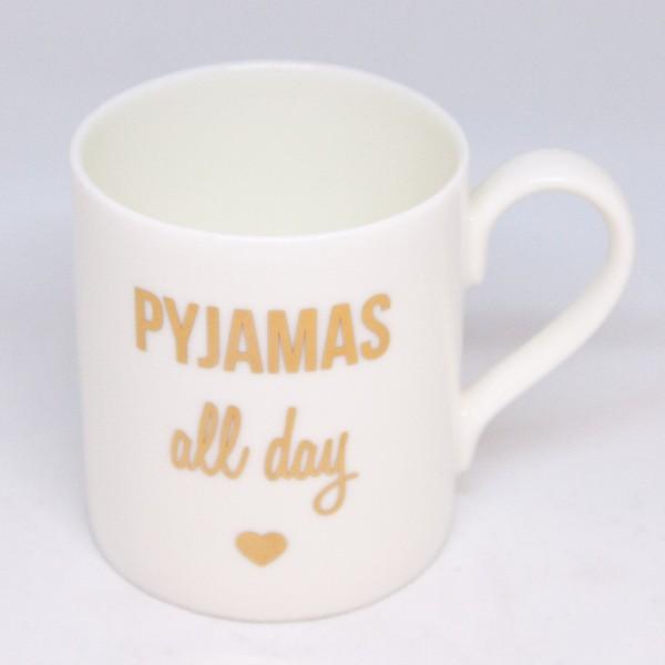 Pyjamas All Day-Becher