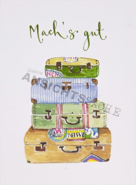 "Postkarte ""Mach's gut"""
