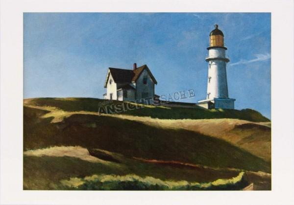 "Postkarte ""Edward Hopper - Lighthouse Hill"""