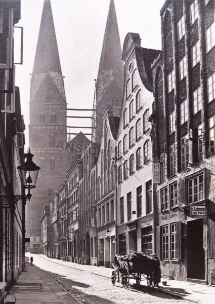 Postkarte Gründungsviertel um 1930