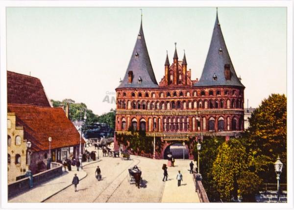 Postkarte Holstentor