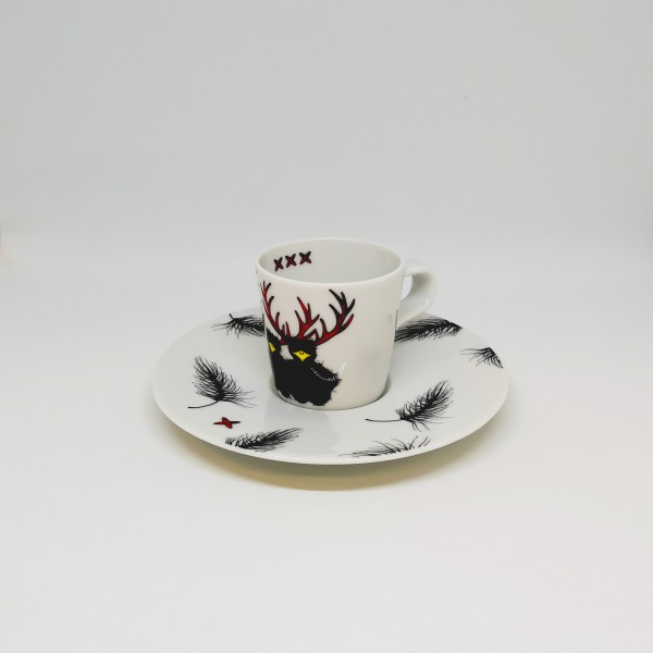 Hirschkrah-Espressotasse