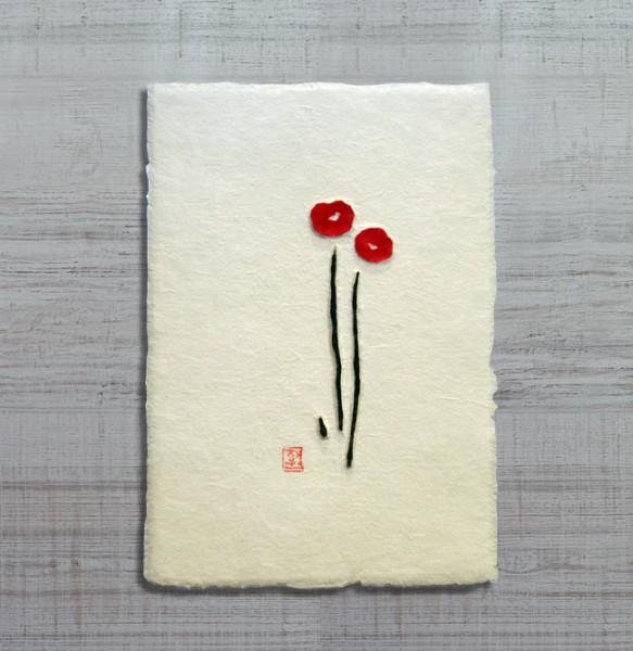 Laechelnde Blumen