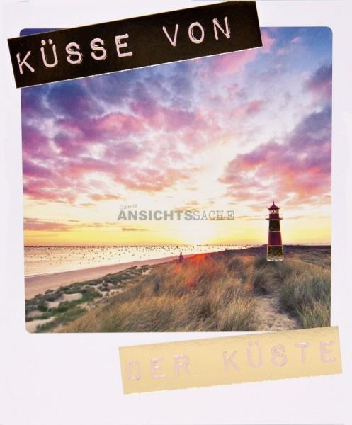 """Polacard """"Küsse von der Küste"""""""