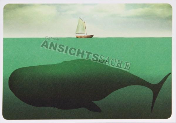 Postkarte Unter dem Meer