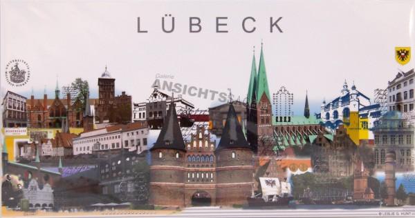 Postkarte Lübeck L. G. Hunt