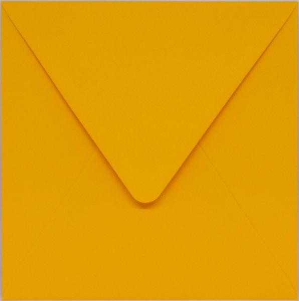quadratischer Umschlag - Gelb