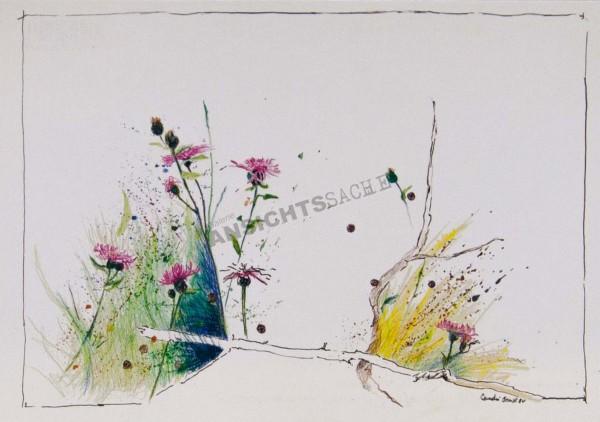 "Postkarte ""Claudia Brandt - Am Wegesrand"""