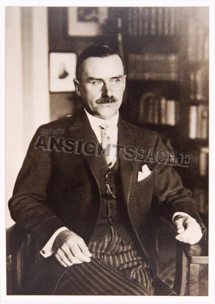 Postkarte Thomas Mann in Lübeck 1926