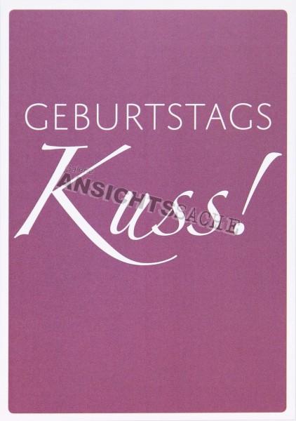 "Geburtstagskarte ""GeburtstagsKuss"""