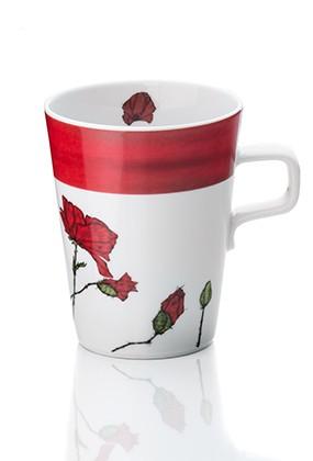 Teetasse Roter Mohn