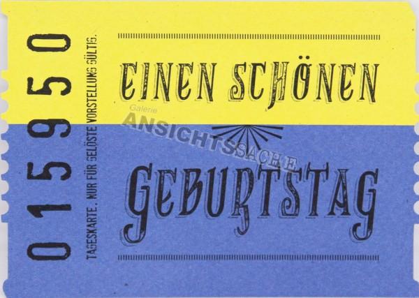 """Geburtstagskarte """"Einen schönen Geburtstag"""""""