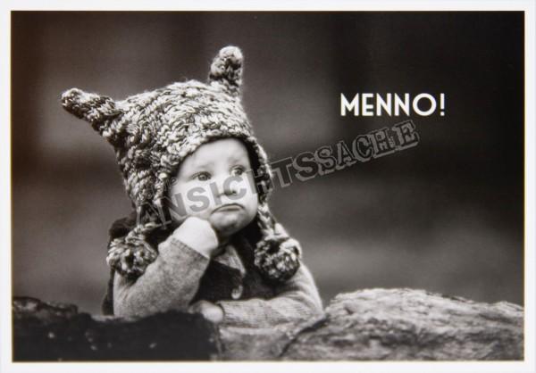 """Postkarte """"Menno!"""""""