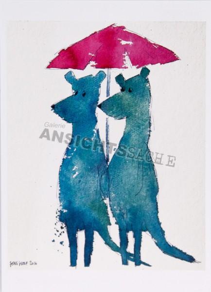 Postkarte Schirmherrschaften von J.Wolf