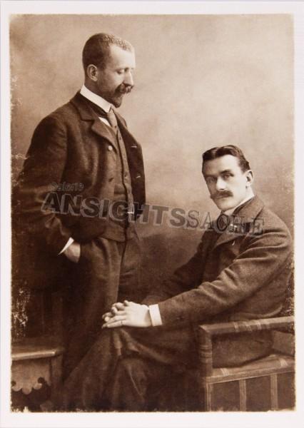 Postkarte Heinrich & Thomas Mann