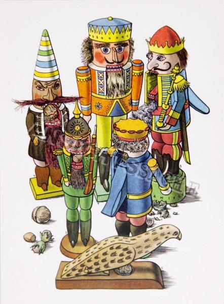 Postkarte Nussknacker