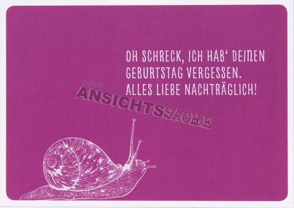 """Geburtstagskarte """"Oh Schreck, ich habe deinen.."""""""