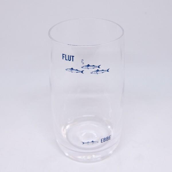 Ebbe & Flut-Kristallglas