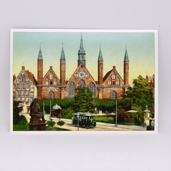 Postkarte Heiligen-Geist-Hospital