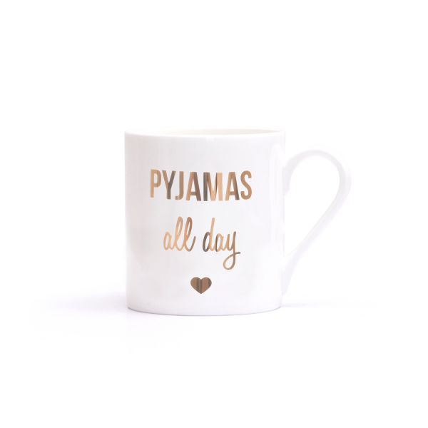 Pyjamas All Day-Becher
