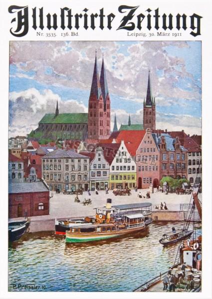 Postkarte Illustrierte Zeitung 1910