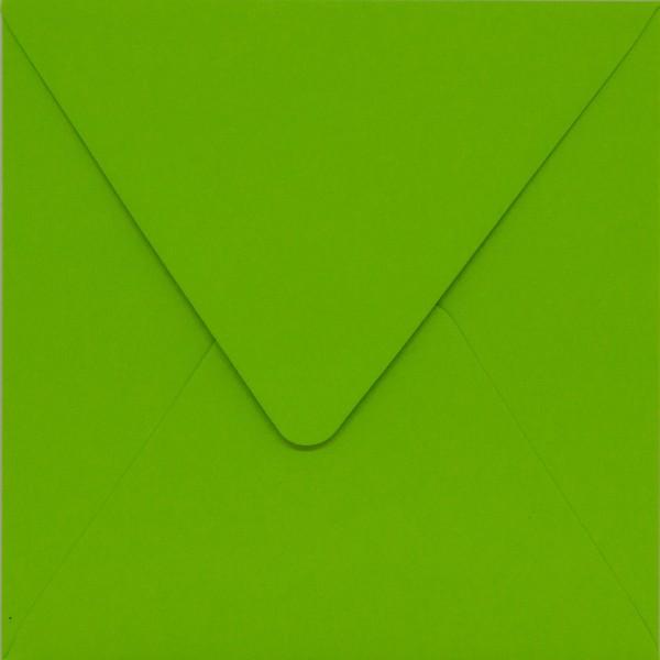 quadratischer Umschlag - Grün