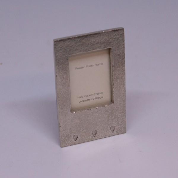 Zinn-Rahmen in 3,5x5 cm