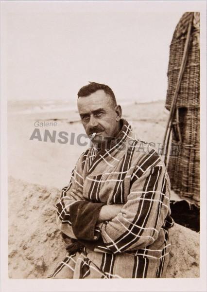 Postkarte Thomas Mann auf Sylt 1928