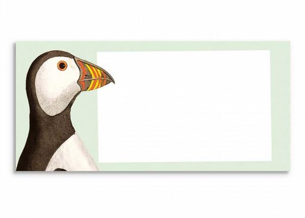 Notizblock Papageitaucher